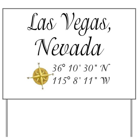 Las Vegas, Nevada Yard Sign