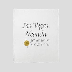 Las Vegas, Nevada Throw Blanket