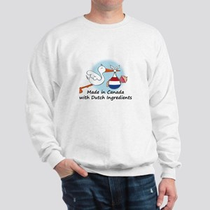 Stork Baby Netherlands Canada Sweatshirt