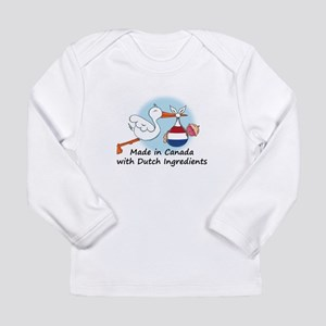 Stork Baby Netherlands Canada Long Sleeve Infant T