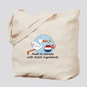 Stork Baby Netherlands Canada Tote Bag