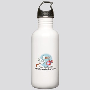 Stork Baby Norway Canada Stainless Water Bottle 1.
