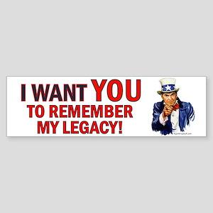 Reagan Legacy Bumper Sticker