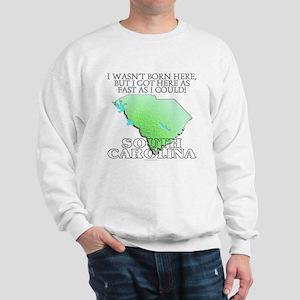 Got here fast! South Carolina Sweatshirt