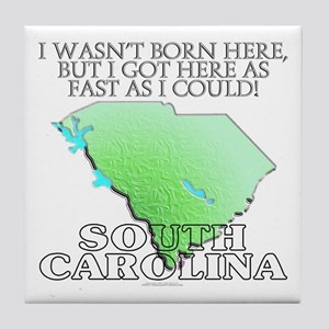 Got here fast! South Carolina Tile Coaster