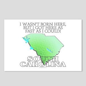 Got here fast! South Carolina Postcards (Package o