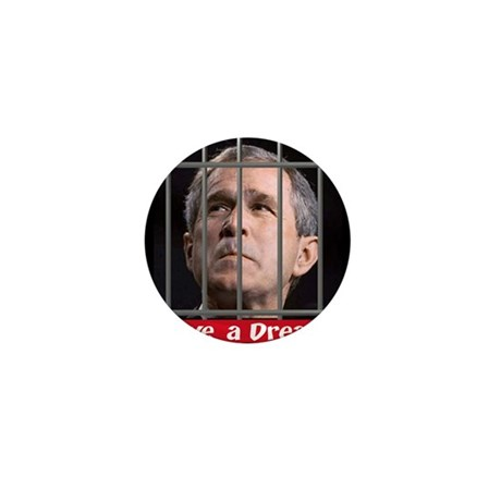 Impeach Bush Mini Button (100 pack)