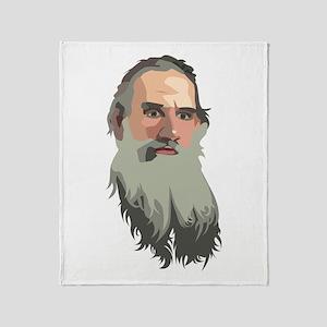 Lyev Nikolayevich Tolstoy Throw Blanket