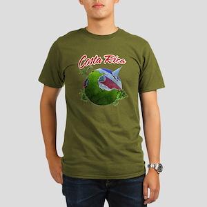 Costa Rica Organic Men's T-Shirt (dark)