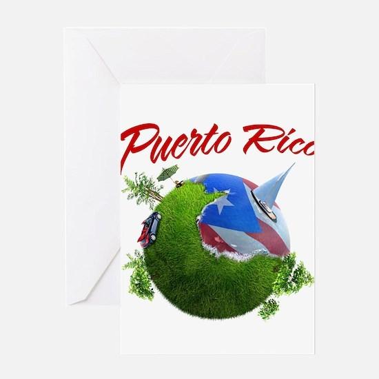 Puerto Rico Greeting Card