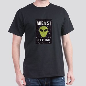 Area 51 Keep Out Dark T-Shirt