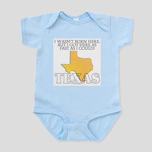 Got here fast! Texas Infant Bodysuit
