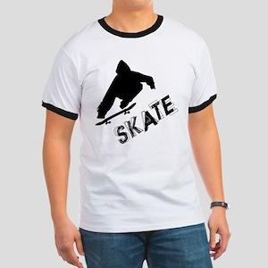 Skate Ollie Sillhouette Ringer T
