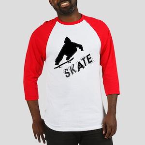 Skate Ollie Sillhouette Baseball Jersey