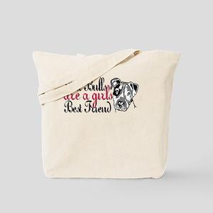 Girls Best Friend Tote Bag