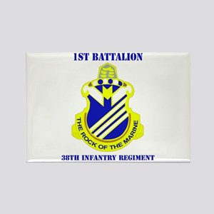 DUI - 1st Bn - 38th Infantry Regt with Text Rectan