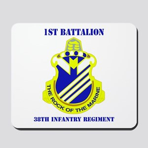 DUI - 1st Bn - 38th Infantry Regt with Text Mousep