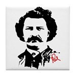 Louis Riel Tile Coaster