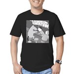 Why the Long Face (No Text) Men's Fitted T-Shirt (