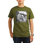 Why the Long Face (No Text) Organic Men's T-Shirt