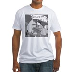 Why the Long Face (No Text) Fitted T-Shirt