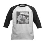 Why the Long Face (No Text) Kids Baseball Jersey