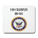 USS CHAMPLIN Mousepad