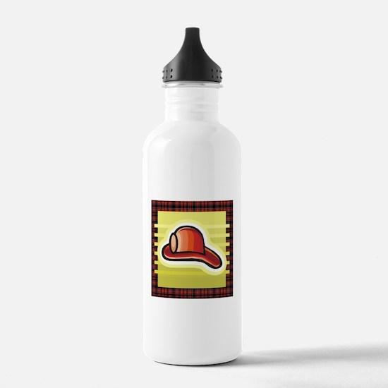 Firemens Helmet Water Bottle