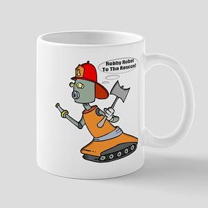 Robot Firefighter Mug