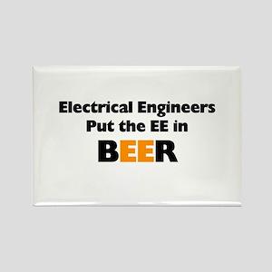 EE in BEER Rectangle Magnet