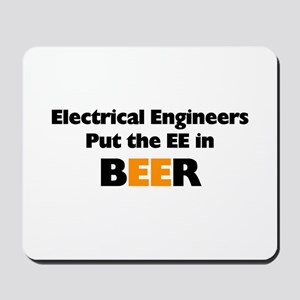 EE in BEER Mousepad