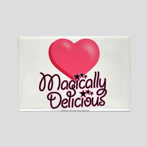 Magically Delicious Hearts Rectangle Magnet