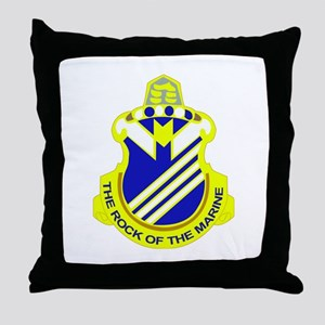 DUI - 1st Bn - 38th Infantry Regt Throw Pillow