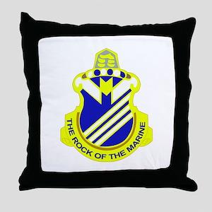 DUI - 1st Bn - 38th Infantry Regt Throw Pillow