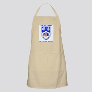 DUI - 2nd Bn - 23rd Infantry Regt with Text Apron