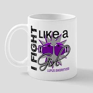 Fight Like A Girl Lupus Mug
