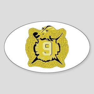 DUI - 4th Bn - 9th Infantry Regt Sticker (Oval)