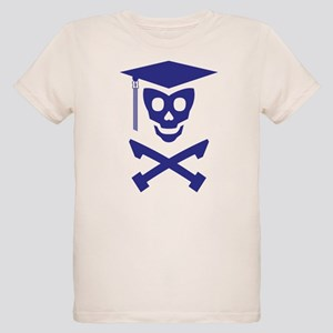 Grad Class Skully Organic Kids T-Shirt