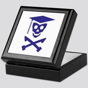 Grad Class Skully Keepsake Box