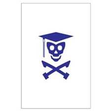 Grad Class Skully Large Poster