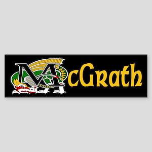 McGrath Celtic Dragon Bumper Sticker
