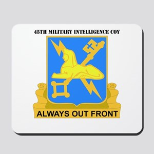 DUI - 45th Military Intelligence Coy with Text Mou