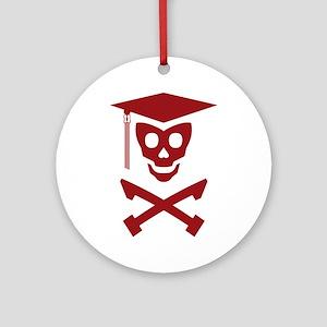 Grad Class Skully Ornament (Round)