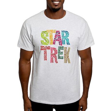 Star Trek:Names Light T-Shirt