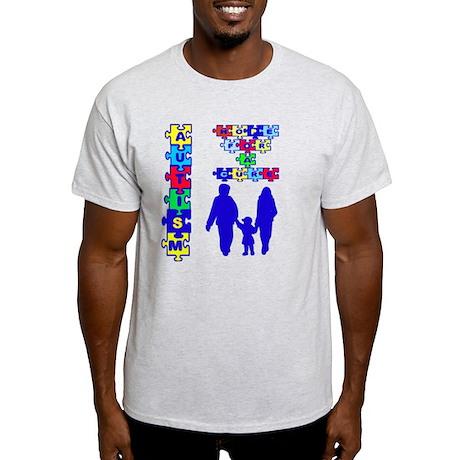 Autism Go Blue Light T-Shirt