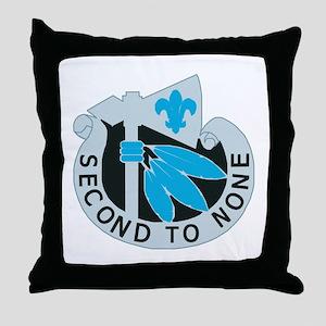 DUI - 334th Signal Company Throw Pillow