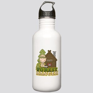 Male Forest Ranger Stainless Water Bottle 1.0L