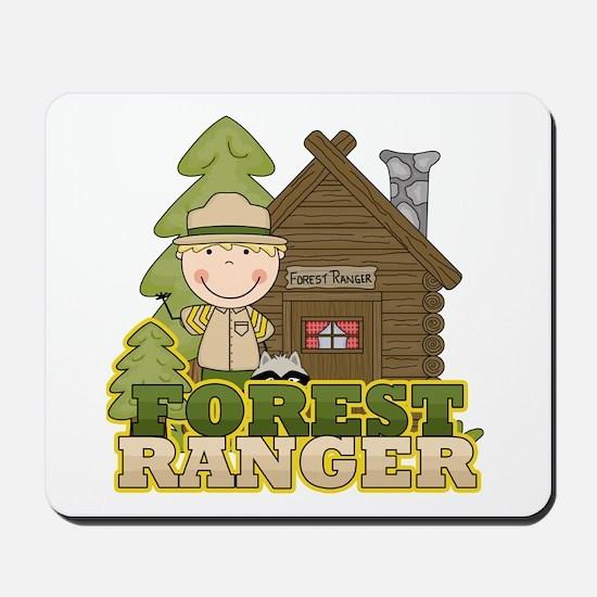 Male Forest Ranger Mousepad