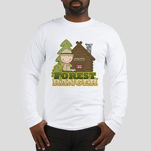 Male Forest Ranger Long Sleeve T-Shirt