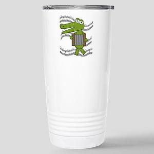 Crocodile With Accordion Stainless Steel Travel Mu